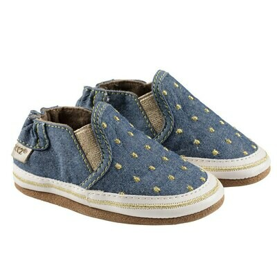 Robeez Blue Isabella 18-24mo Shoes