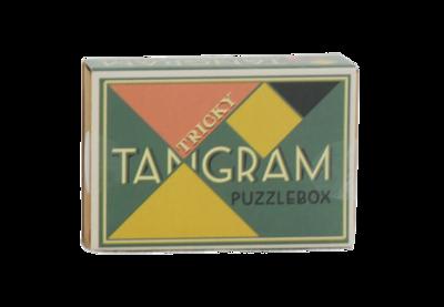 Tricky Tangram Pocketsize Puzzlebox