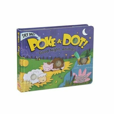 Poke a Dot Good Night, Animals - MandD - Board Book