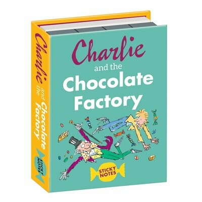 UPG Charlie and the Chocolate Factory Sticky Notes