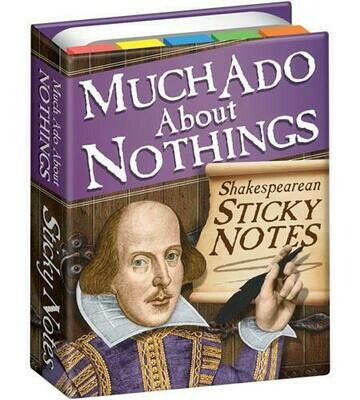 UPG Much Ado About Nothing Sticky Notes