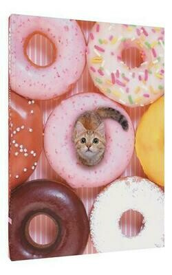 Tiny Cat Donut Journal