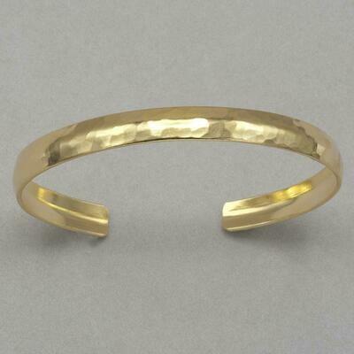 Holly Yashi 12582 Gold Princess Anne Cuff Bracelet