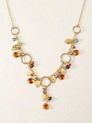 Holly Yashi 13840 - Apricot Fairy Garden Necklace