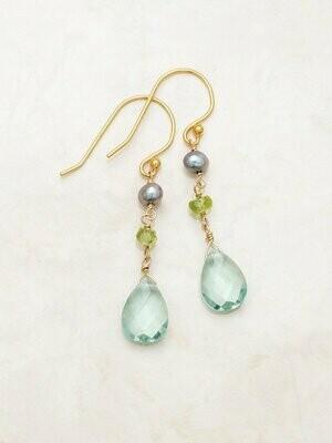 Holly Yashi 60155 Seashore Astoria Drop Earrings