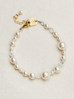 Holly Yashi 63310 - Bracelet Pearl & Crystals