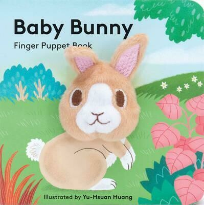 Baby Bunny - Finger Puppet - Board Book