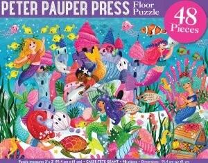 PPP Mermaid Adventure Floor Puzzle 48 pieces