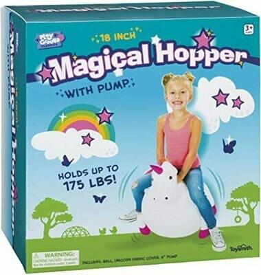 Magical Unicorn Hopper - 18in