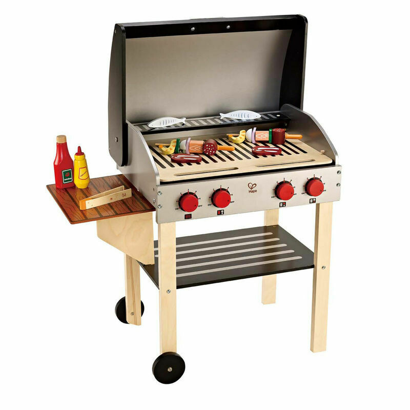 Hape Gourmet Grill with food - Drop Ship