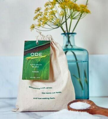 Ode Verde Bath Salt Blend