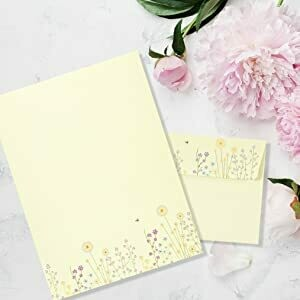 Sparkly Garden Stationery