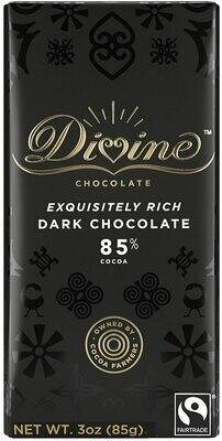 Divine 85% Dark Chocolate - 3oz
