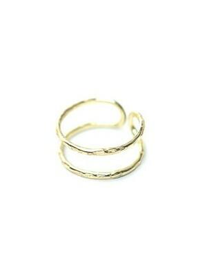 Fair Anita Illusion Ring Brass