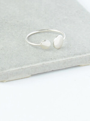 Fair Anita Dot Ring Silver Plated sz7