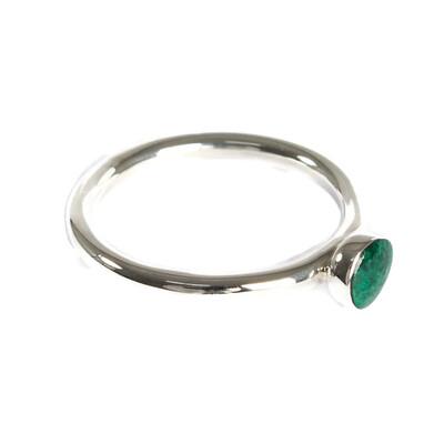 Fair Anita SS Rosamaria Amazonite sz8 Ring