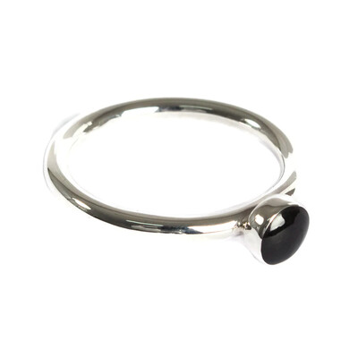 Fair Anita SS Rosamaria Black Onyx sz8 Ring