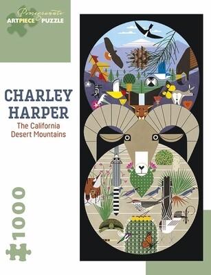 Harper The California Desert Mountains Puzzle - 1000pc