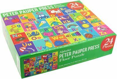 PPP Alphabet Floor Puzzle 24 pieces