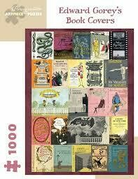 Edward Gorey Book Covers 1000pc Puzzle