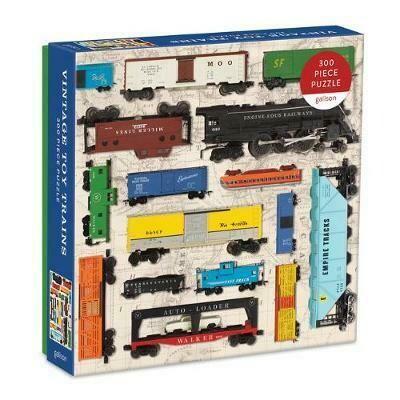 Vintage Toy Trains 300 pc Puzzle