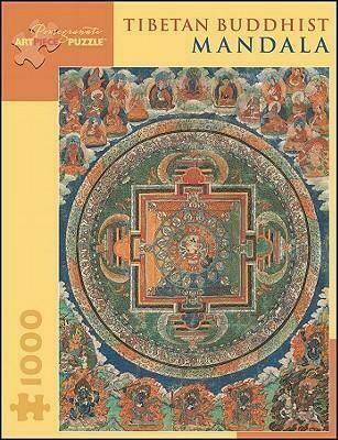 Tibetan Buddhist Mandala 1000pc Puzzle