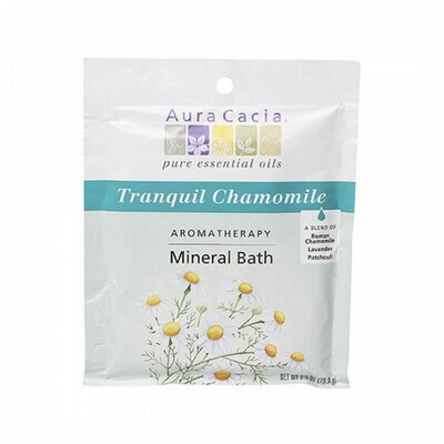 Aura Cacia Mineral Bath Chamomile