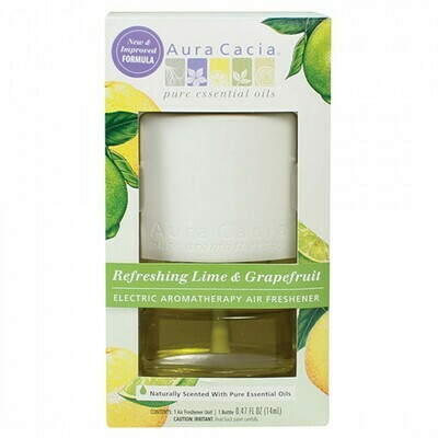 Aura Cacia Electric Diffuser Lime and Grapefruit