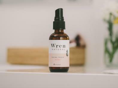 Wren Natural Facial Toner Rose Water