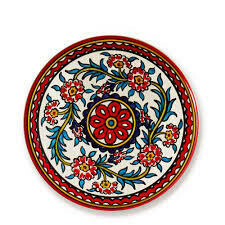 Serrv /BOX/ Red West Bank Platter - 43200