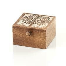 Serrv /BOX/ Tree of Life Wood Box - 32697