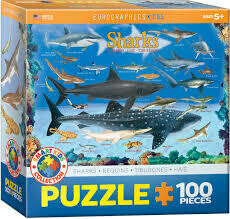 Sharks Puzzle 100 pc
