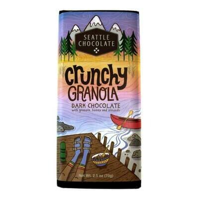 Crunchy Granola Seattle Chocolate Bar