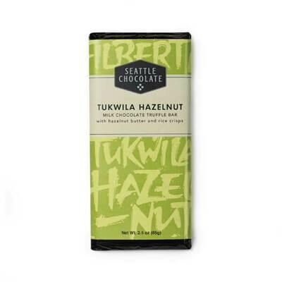 Tukwila Hazelnut Seattle Chocolate Bar