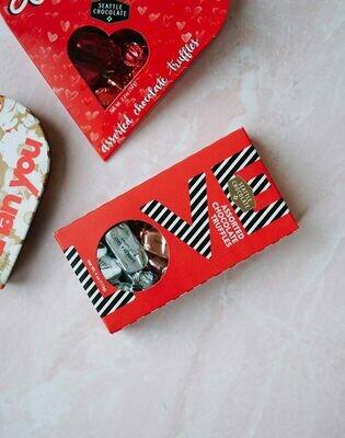 Love Window Box Seattle Chocolates Truffles Box - 4oz