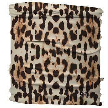Karma Half Headband Leopard