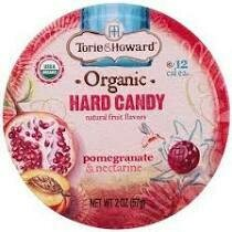 Torie & Howard - Pomegranate & Nectarine - Organic Hard Candy