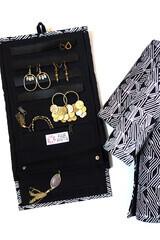 Wayfarers Black Matchstick Jewelry Roll