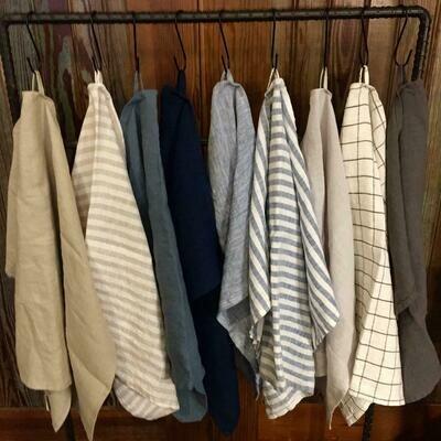 Stonewashed Linen Towel