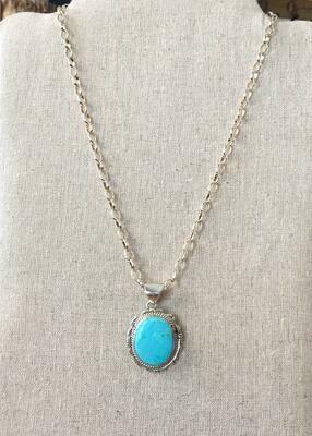 TQ Medallion Necklace