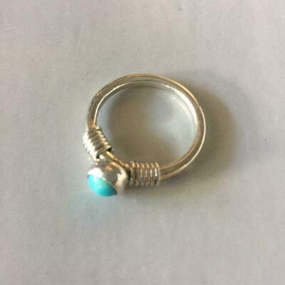 Dainty TQ Ring
