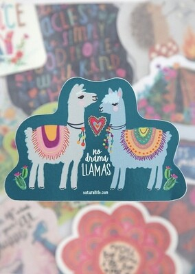 Llama Drama Sticker