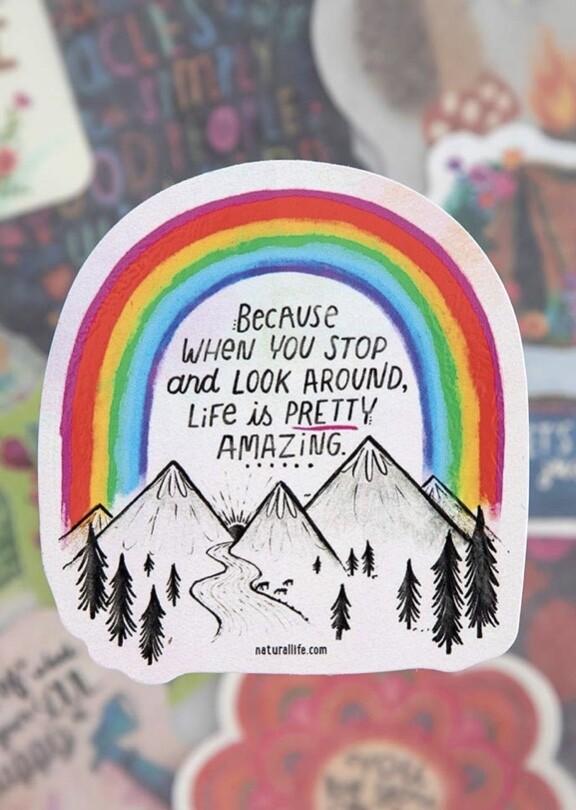 Amazing Life Sticker