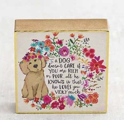 Dogs Love Keepsake Box