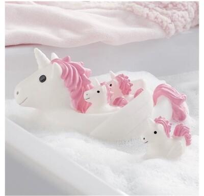Unicorn bath toys