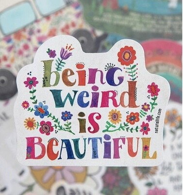 Being Weird Sticker