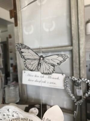Schmetterlings-Girlande