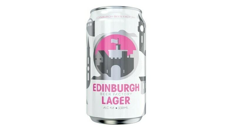 Edinburgh Beer Factory - Edinburgh Lager x 1 can