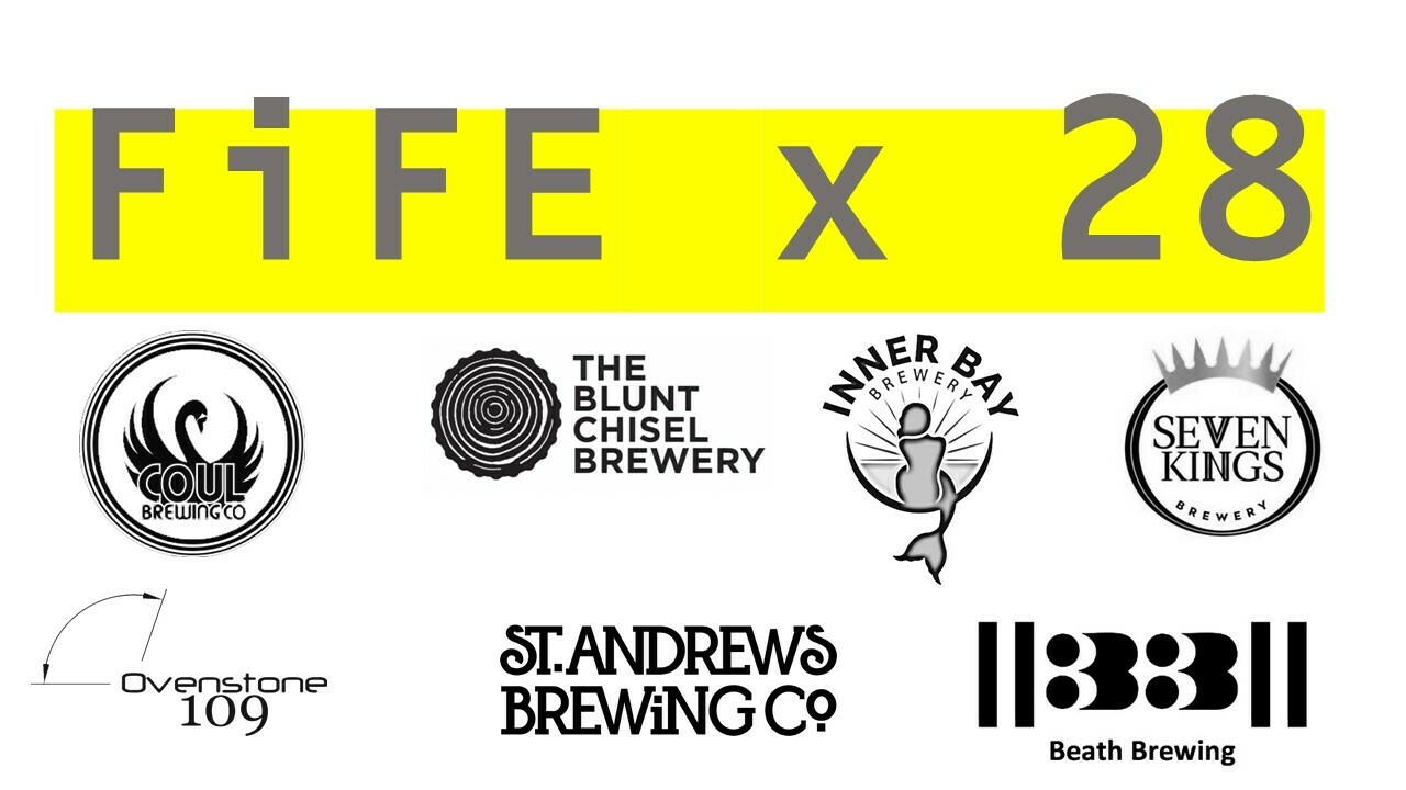 FIFE CRAFT BEERS - 28 bottle/can Mixed Case