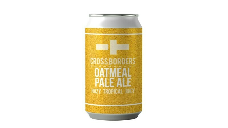 Borders Brewing - Oatmeal Pale x 1 can